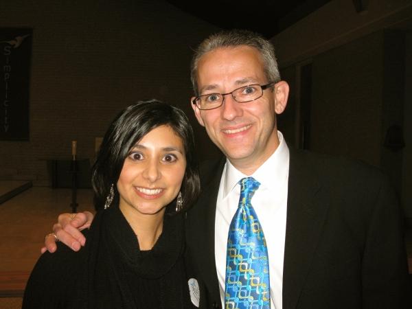 with David Beriet