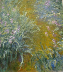 Path Through The Irises